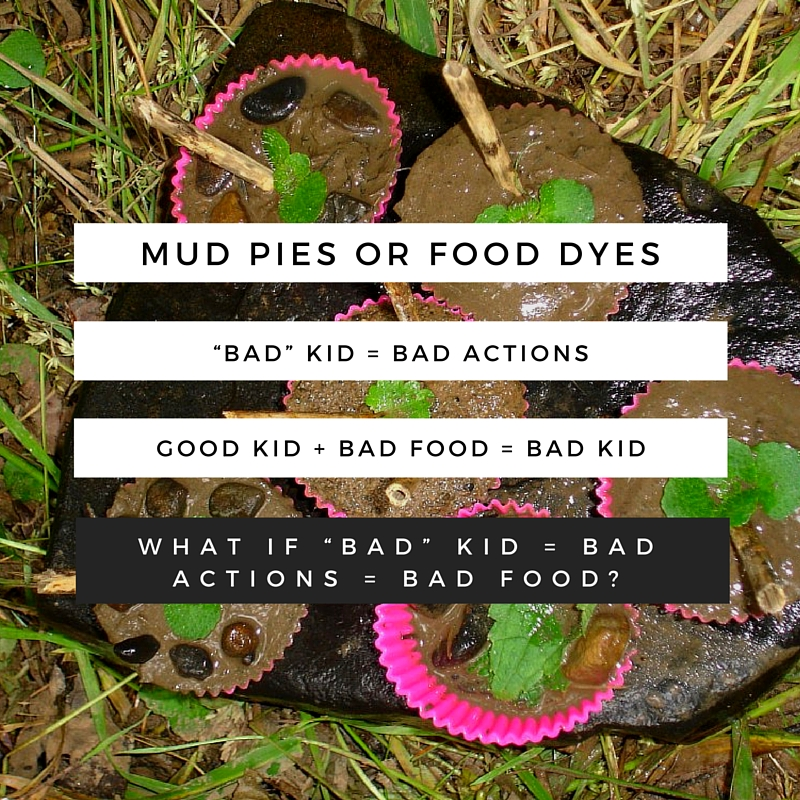 Mud Pies or Food Dyes?
